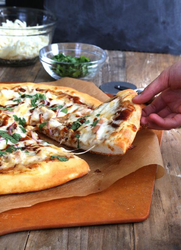 California Pizza Kitchen-Style Gluten Free BBQ Chicken Pizza | Gluten Free on a Shoestring