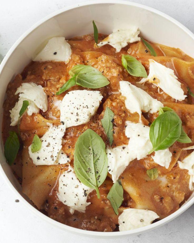 One pot lasagne