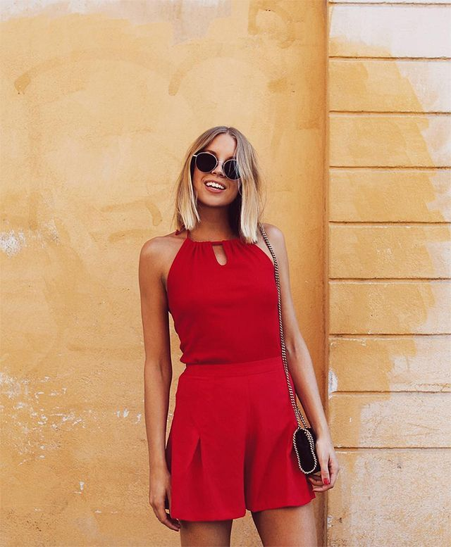 3 Red Summer Looks That Pop