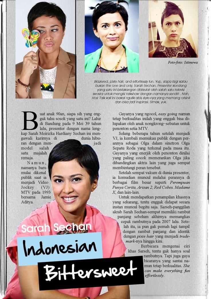 Host Talk : Sarah Sechan - Indonesian Bittersweet