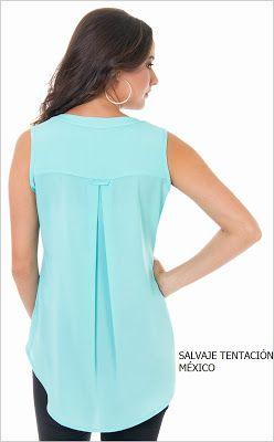 Trazar cola de pato en espalda de blusa o vestido Parte 1 - El Rincon De Celestecielo