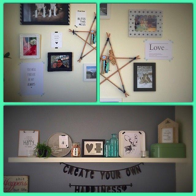 M'n #happiness plekjes aangepast ❤️ #valentijn toegevoegd aan huis..! ##studioCatootje