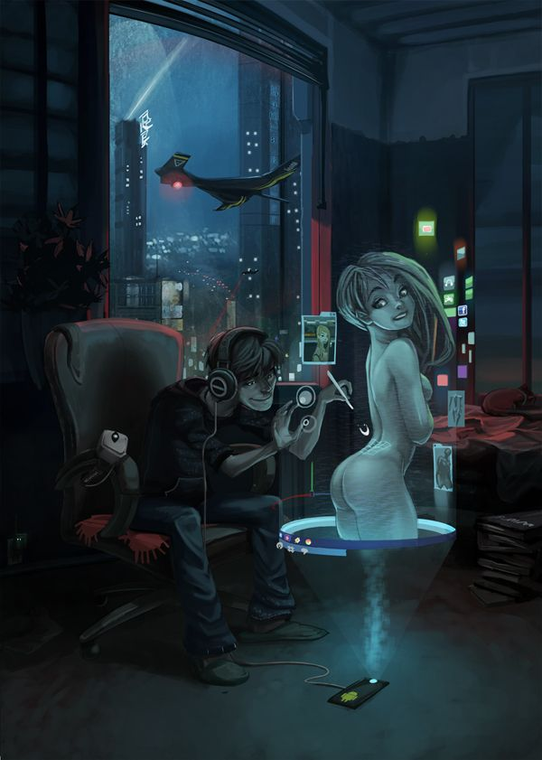 Vision of the future 001 by SC4V3NG3R on deviantART