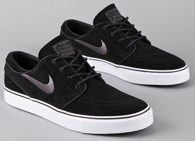 Nike SB Zoom Stefan Janoski Low - Black / Light Graphite