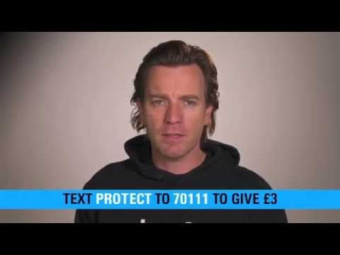 Ewan McGregor's appeal for street children around the world