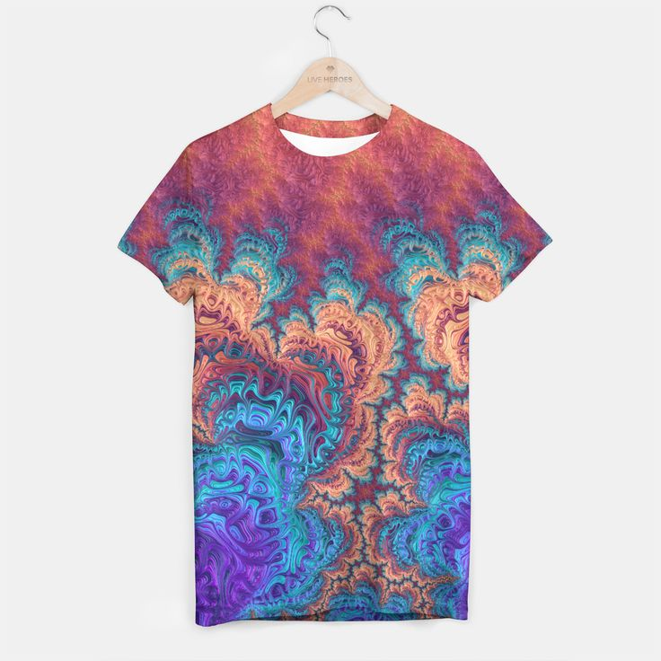 Your ideas, your pattern, your style! A unisex cut full print custom t-shirt made of best quality materials. An excellent gift and a perfect outfit. A t-shirt like no other is within the reach of your fingertips, all you need to do is grab it!All over printed tee with galaxy, marijuana, emoji, nebula - choose your favourite! Live Heroes guarantees the highest quality of all products purchased. If your order isn't what you expected, feel free to contact our Customer service team. We'l...