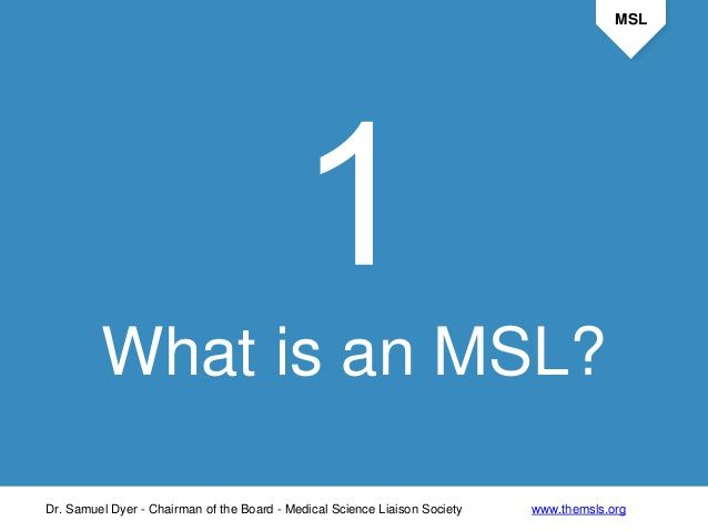 What Is A Medical Science Liaison Medical Science Science Medical