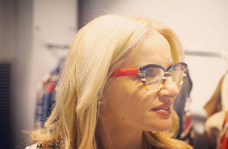 Maria Mpekatwrou rocks in Ultra Limited. @mariampekatwrou @ultralimitedsunglasses #ultralimited #plusoneframes #eyewear #yfsf_ant1 #stylizeyoureyez