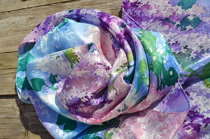 Весенняя фотосессия для шарфика. - Ярмарка Мастеров - ручная работа, handmade