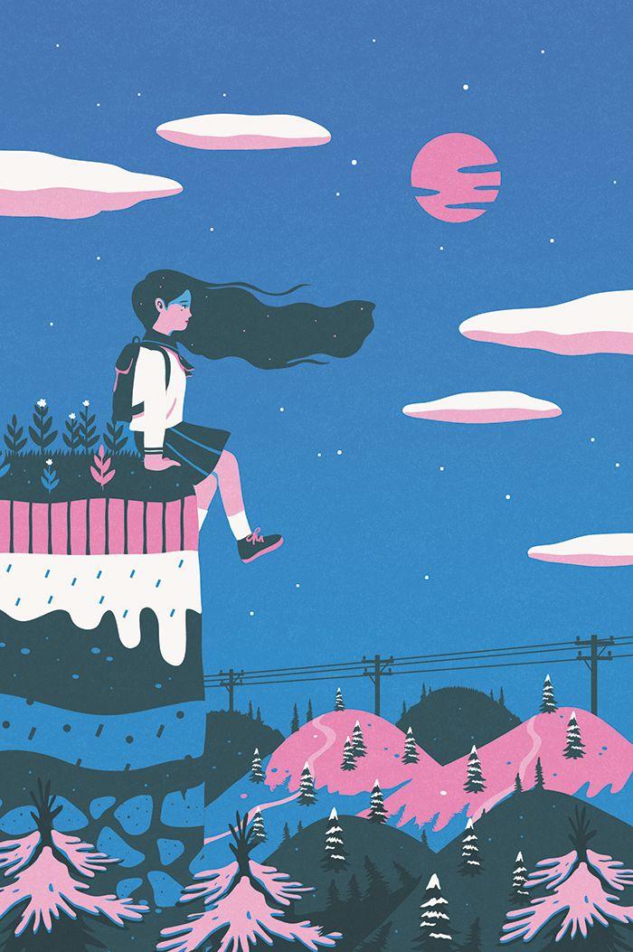 """내 @Behance 프로젝트 살펴보기: """"A day of the girl"""" https://www.behance.net/gallery/32478527/A-day-of-the-girl"""