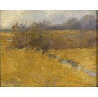November marsh, 1909, Walter Meyner
