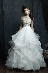 C380 Allure Couture Wedding dress