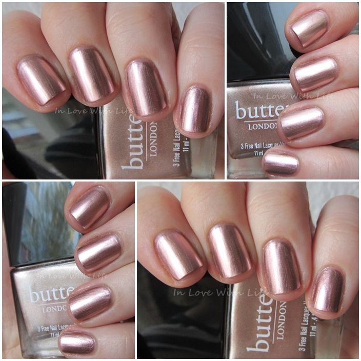 Butter London Goss.  Full size.  SW. $6 shipped or part of 2 for $10 shipped.