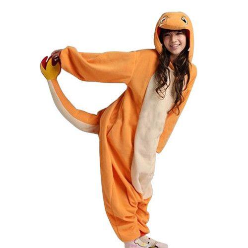 NEW Adult Animal Onesie Pokemon Charmander Kigurumi Cosplay Costume Pajamas | eBay