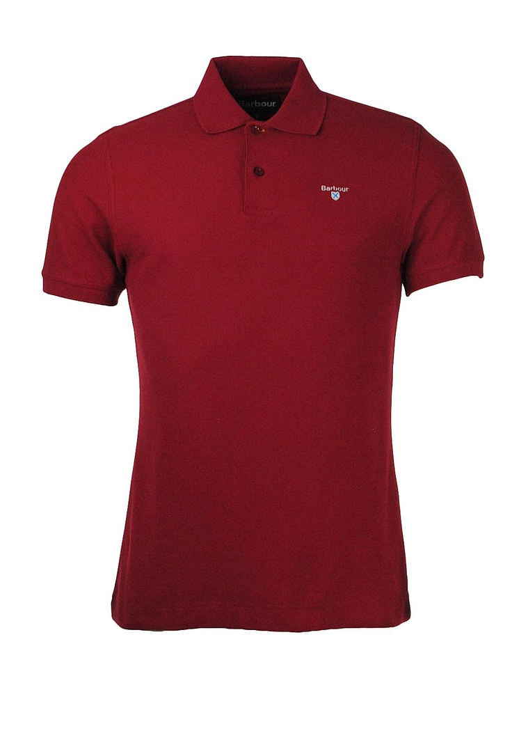Barbour Sports Polo, Red | McElhinneys Online Department Store