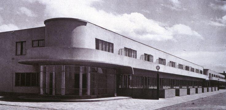 J.J. Pieter Oud osiedle robotnicze Hoek van Holland 1924 - 1927 Rotterdam