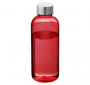 Promotional Spring sports bottle. Red 600ml BPA Free Bottle