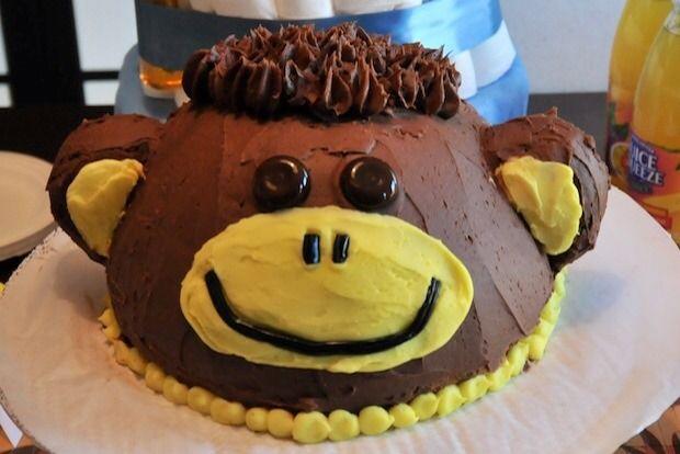 Gâteau Singe, le gâteau d'anniversaire à réaliser soi-même!