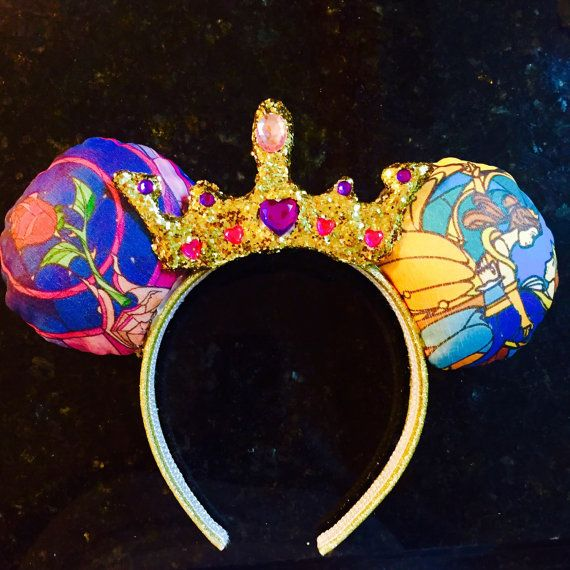 Beauty and the Beast Ears by UniqueAileen on Etsy