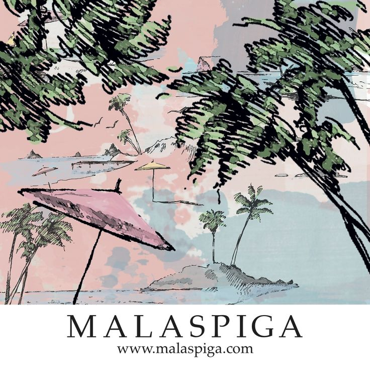 #tropical #dream #pink #sky #palm #malaspiga #summer