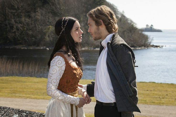 The Reign Costume Designer Shopped for 16th Century Costumes on Net-a-Porter: Mary (Adelaide Kane) and Prince Francis (Toby Regbo)