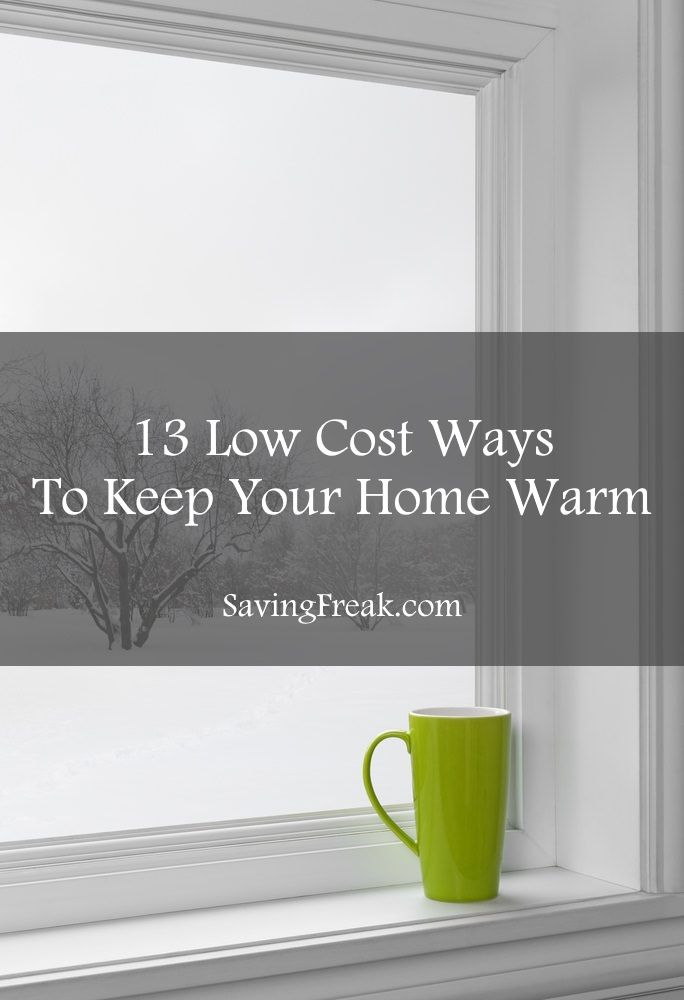 cheap home heating options