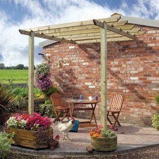 Buy Grange Fencing Garden Patio Pergola at Argos.co.uk - Your Online Shop for Pagodas and pergolas.