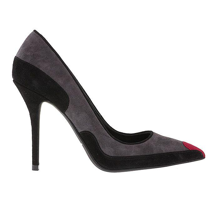 100446-BLACK LEATHER #mourtzi #heels #shadesofgrey #suedeshoes #wow #pumps #heart www.mourtzi.com