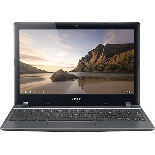 "Acer Aspire C720-2103 11.6"" LED (ComfyView) Notebook, Intel Celeron 2955U 1.40 GHz, 2GB DDR3, 16GB SSD, Chrome OS NX.SHEAA.006"
