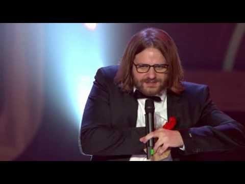 Gronkh gewinnt den Ehrenpreis national - Deutscher Webvideopreis 2015 - YouTube