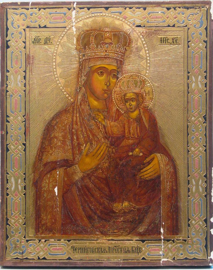 Черниговская Богородица, конец 19 в..