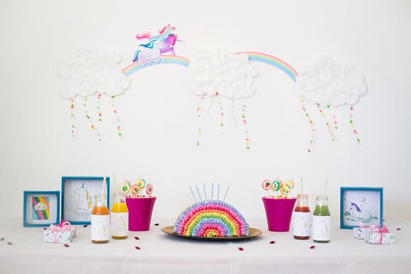L'anniversaire de Rose – Thème licorne