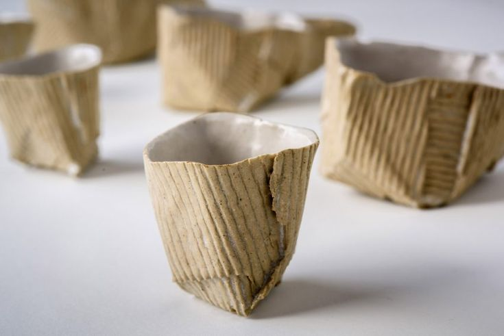 Ray Gonzalez Brown's Cardboard Ceramics uses the Lost Cardboard Technique he devised at the Cass