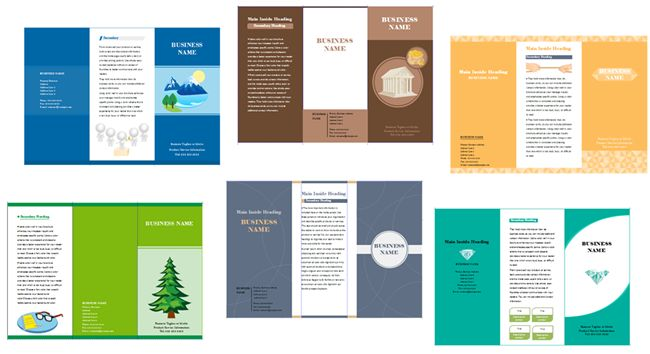 Leaflet Templates