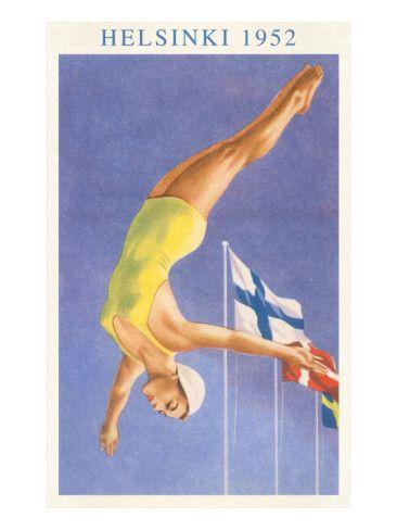 Olympic Diving Helsinki 1952