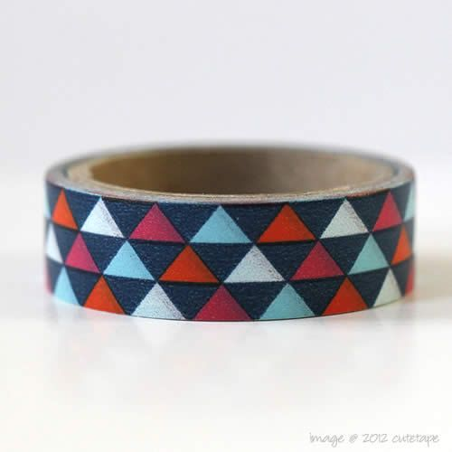 Driehoek Washi Tape Mini grootte Gift Wrapping versiering