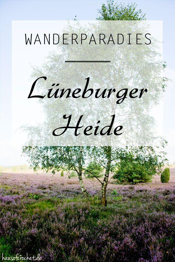 Wanderparadies - Naturschutzgebiet Lüneburger Heide #wandern #reisen #travel
