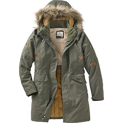 New Trending Outerwear: Legendary Whitetails Ladies Anchorage Parka Army XX-Large. Legendary Whitetails Ladies Anchorage Parka Army XX-Large  Special Offer: $109.99  388 Reviews Stay comfy and safe from Mother Nature's worst! Made from a unique stretch woven polyester that's finished with a waterproof coating. Features an ultra cozy snap-on removable hood...