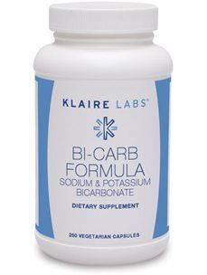 This is the bicarbonate formula I am recommending because it satisfies my need for bicarbonate, potassium and magnesium. Both sodium bicarbonate and potassium bicarbonate are sources of carbon dioxide. When we increase CO2 levels blood vessels dilate, which tends to bring the blood pressure down even when some salt is consumed. A chemical element, atomic... View Article