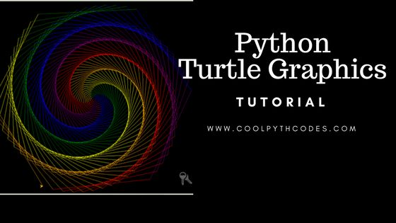 Python turtle graphics is one of the cool ways to draw amazing artwork with Python. This tutorial will teach you the basics of turtle drawing step by step. Free source code is available.