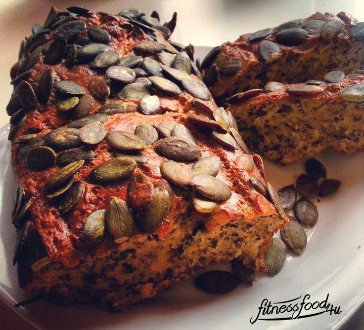 Lowcarb Brot Kürbis