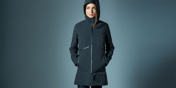women's gale jacket black studio