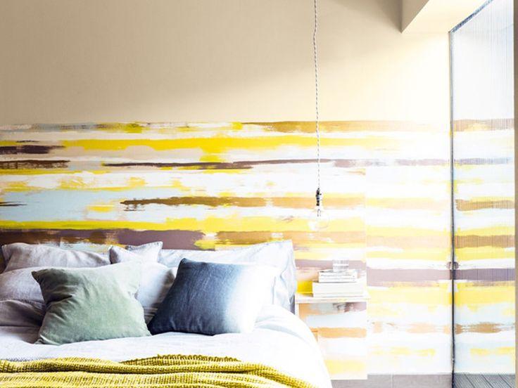 M s de 25 ideas fant sticas sobre paredes de rayas - Pintar pared a rayas horizontales ...