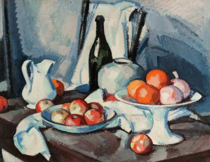 Samuel John Peploe,  Scottish Colourist (1871-1935)  Still Life (1917-1918)