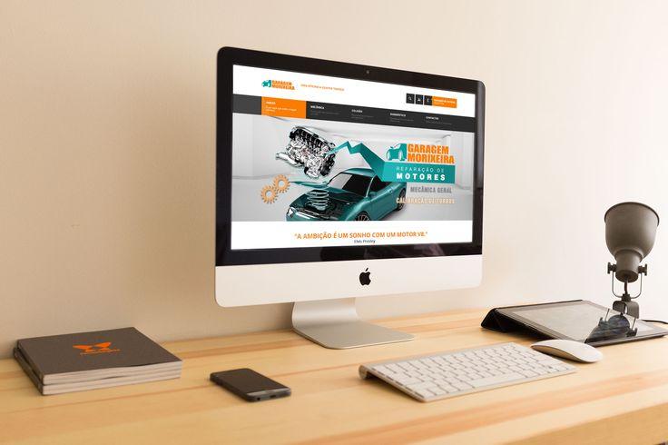 Elaboração de site institucional com vídeo integrado.…