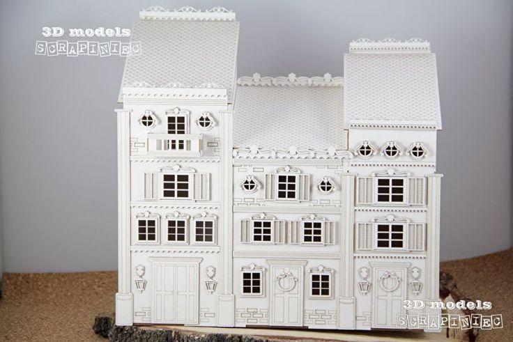 3 Victoriaanse huizen