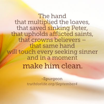 Spurgeon devotional quote: The hand that multiplied the loaves