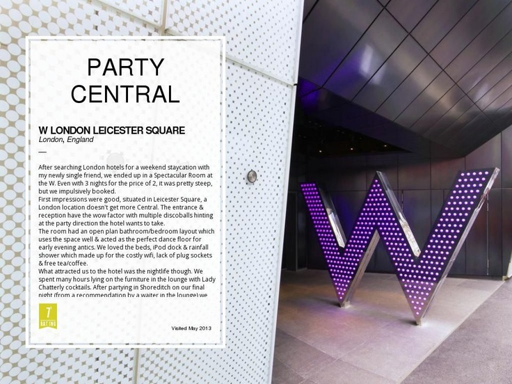 W London Leicester Square by Matt Hadden
