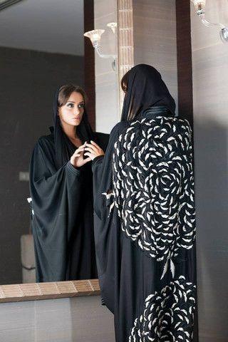 Arabesk Collection Abaya II by Sckali | Haute Arabia