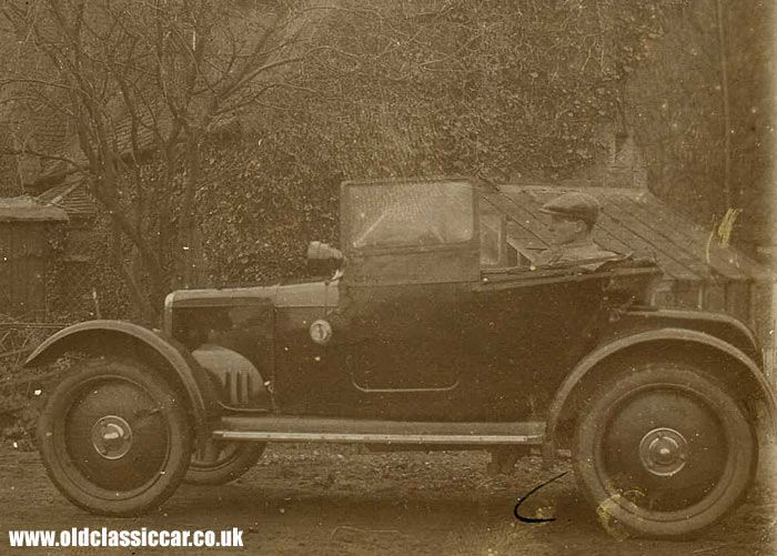 Rover 8. Wiltshire series used from 1919 to 1924.